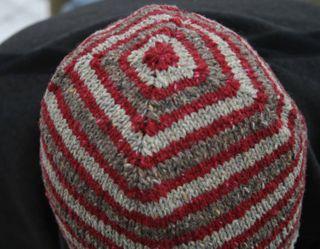 Ed - Hat 3, closeup