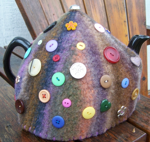 Felted Tea Cozy