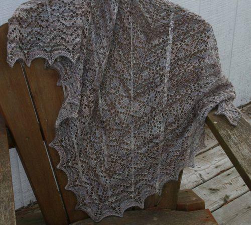 Hyacinth Lace Shawl