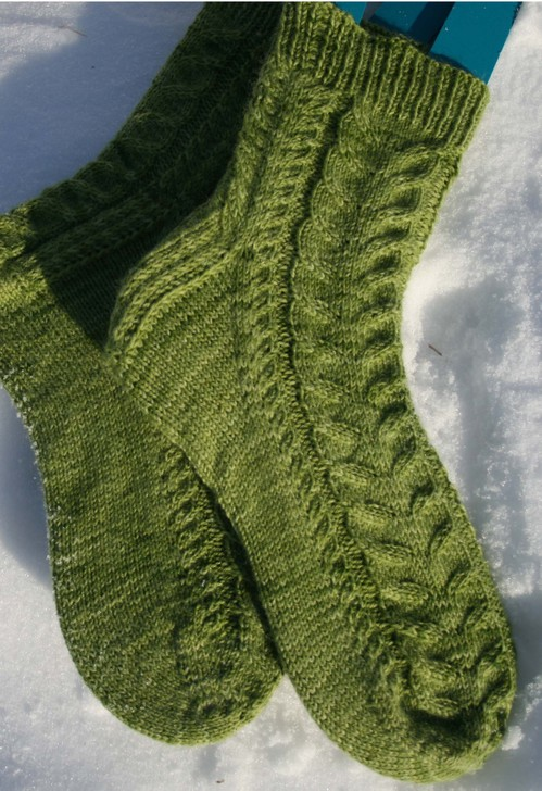 Azure Socks