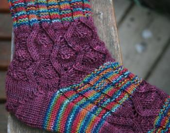 Two_pattern_socks_closeup_2